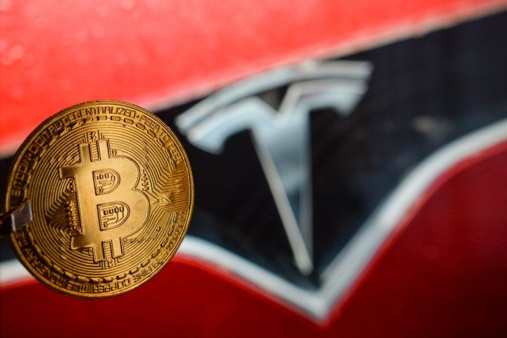 Tesla stock is now directly tied to the price of Bitcoin