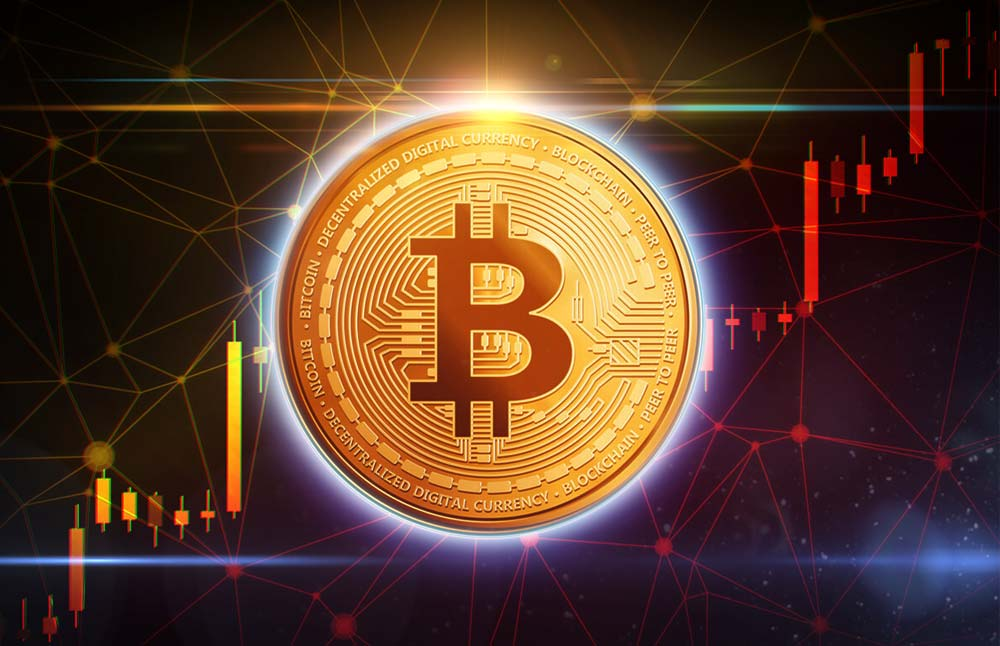Bitcoin sets new all-time high before correction.