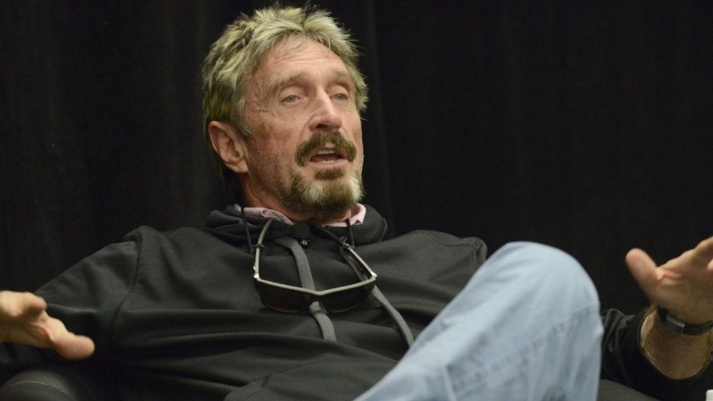 John McAfee and Jimmy Gale Watson Jr. charged in cryptocurrency scheme