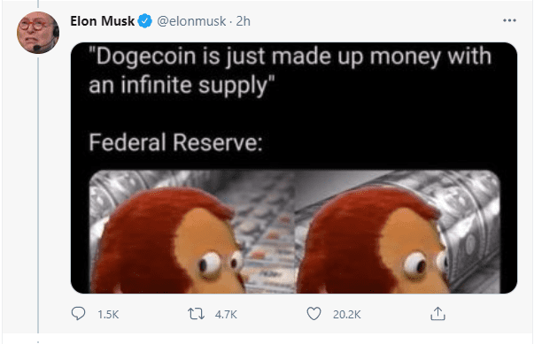 Dogecoin, Elon Musk's Favorite Dogecoin Among the Biggest Victims of His Manipulative Tweets