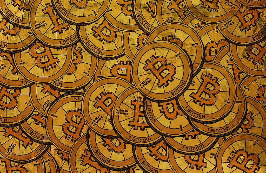 """""""Bitcoin and cryptocurrency""""bystockcatalogis licensed underCC BY 2.0"""