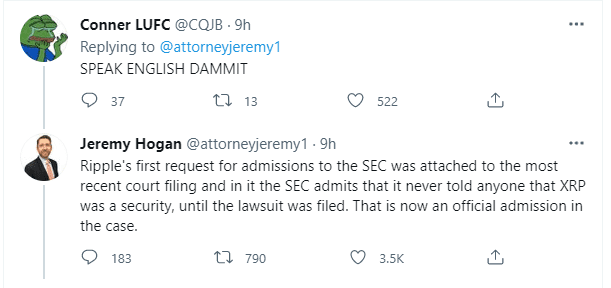 SEC, SEC did not send fair notice to Ripple Labs before dragging it into the XRP lawsuit