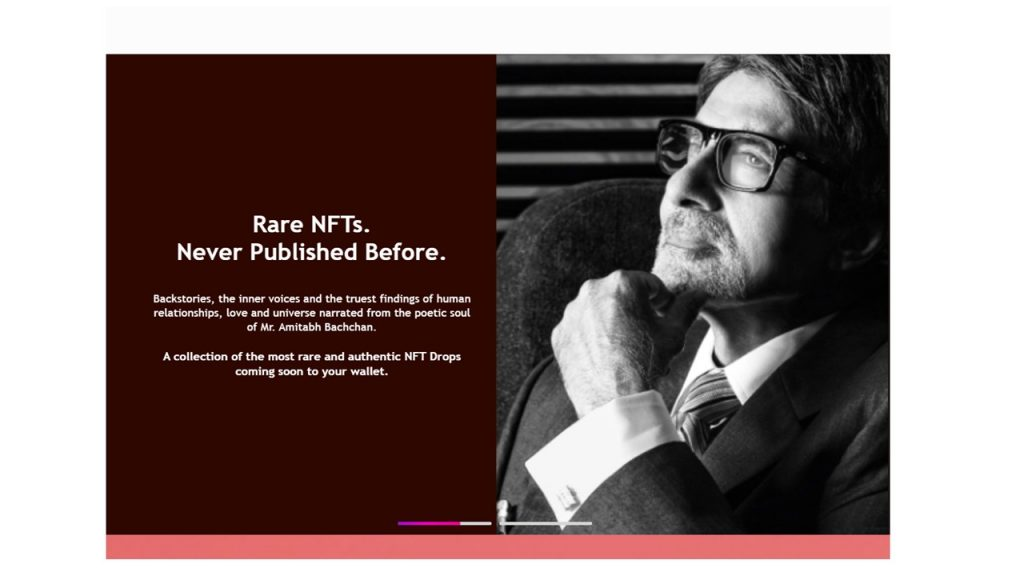 Indian star actor Amitabh Bachchan is set to release his personal collection of NFTs in November on the NFT platform BeyonLife.Club.