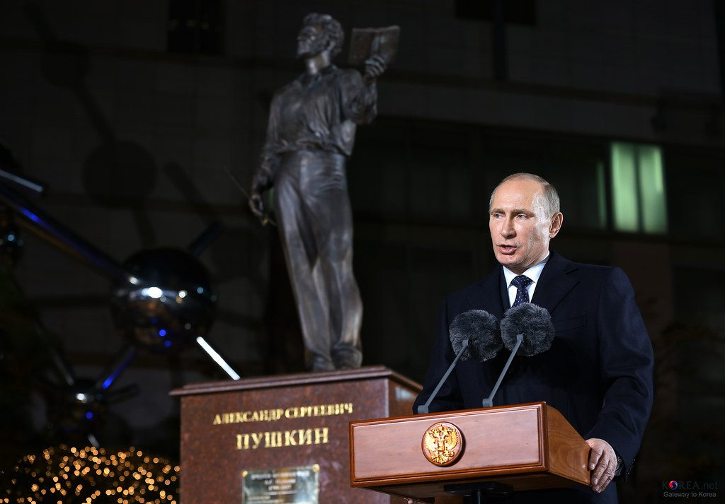 Russian President Vladimir Putin thinks cryptocurrencies have value, but they can't replace the US Dollar in international oil trade yet